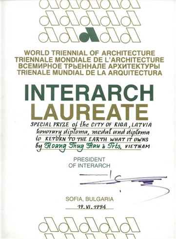 World triennial of architecture